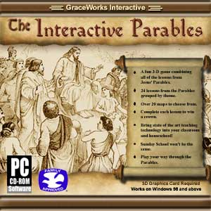Interactive Parables CD cover - http://CGNow.com/sale.htm
